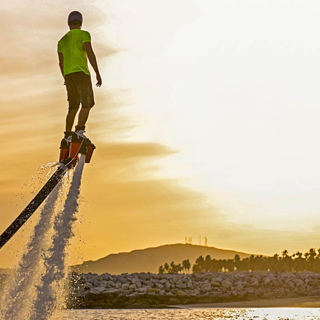 Take to the Skies : The Art of Flyboarding