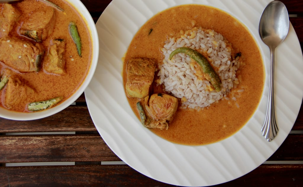 Indian Delicacies - Fish Curry