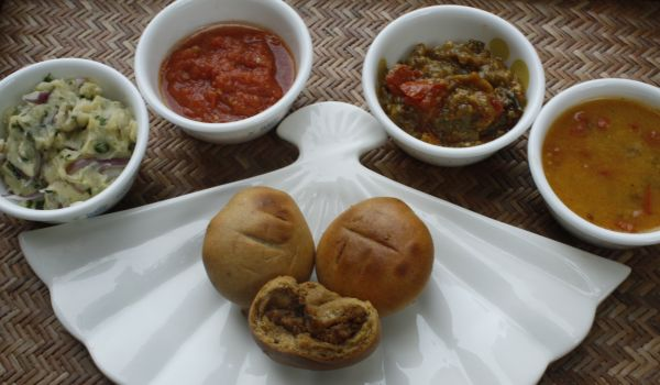 Indian Delicacies - Litti Chowkha