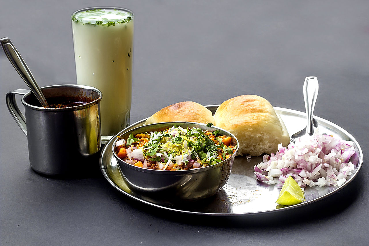 Indian Delicacies - Misal Pav