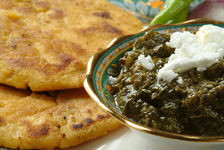 Indian Delicacies - Sarson Da Saag