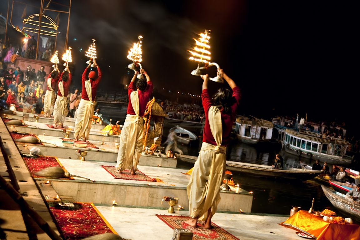 Indian Festivals - Varanasi Diwali1