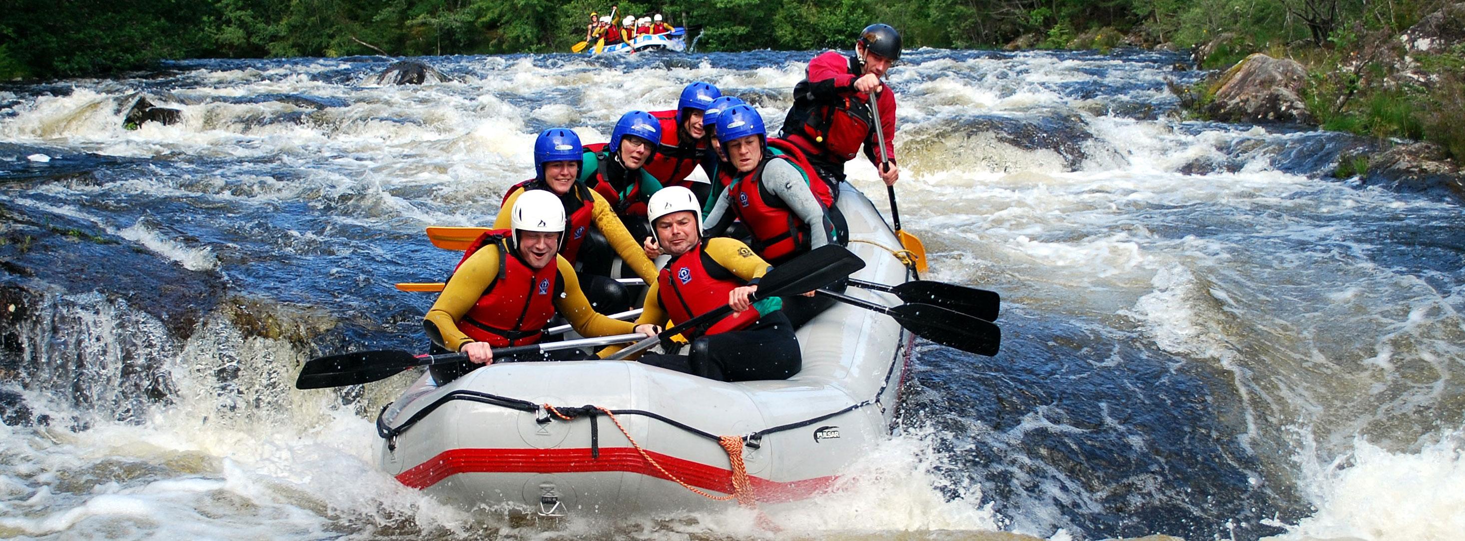 Adenture sports - Rafting