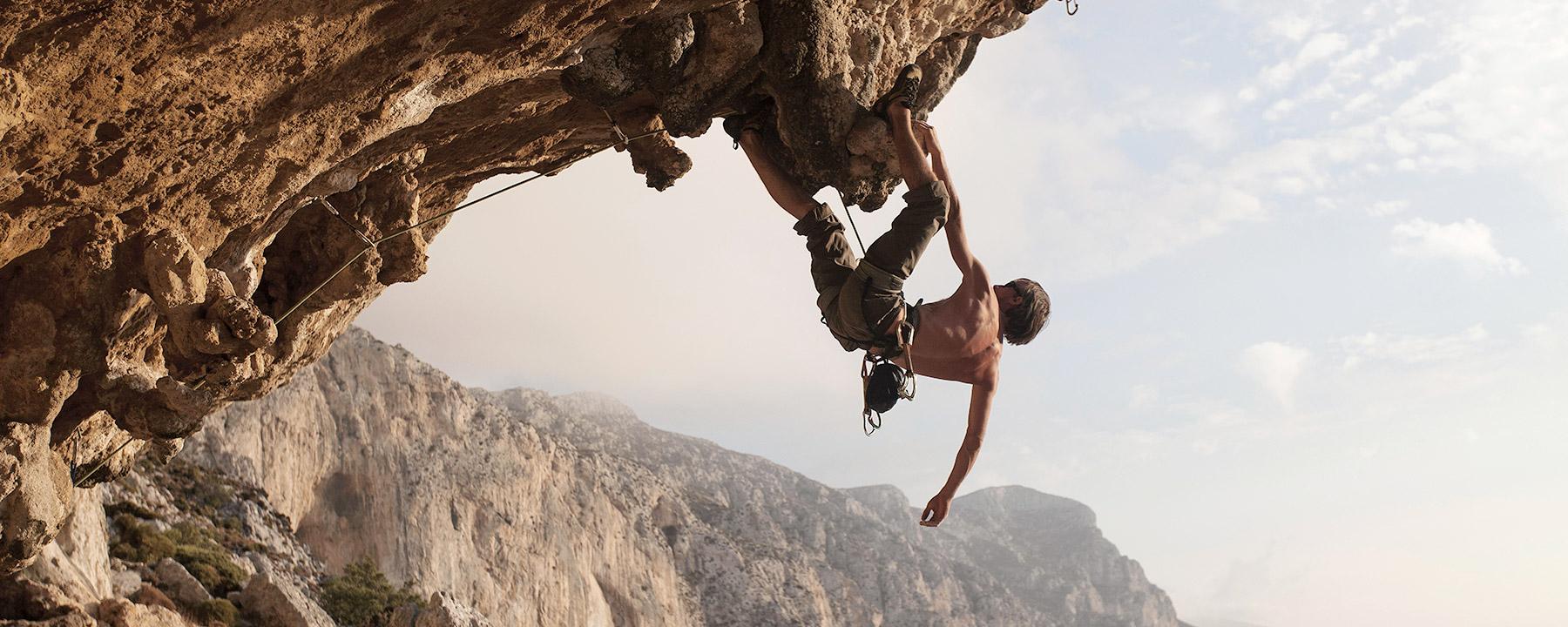 Adenture sports - Rock climbing