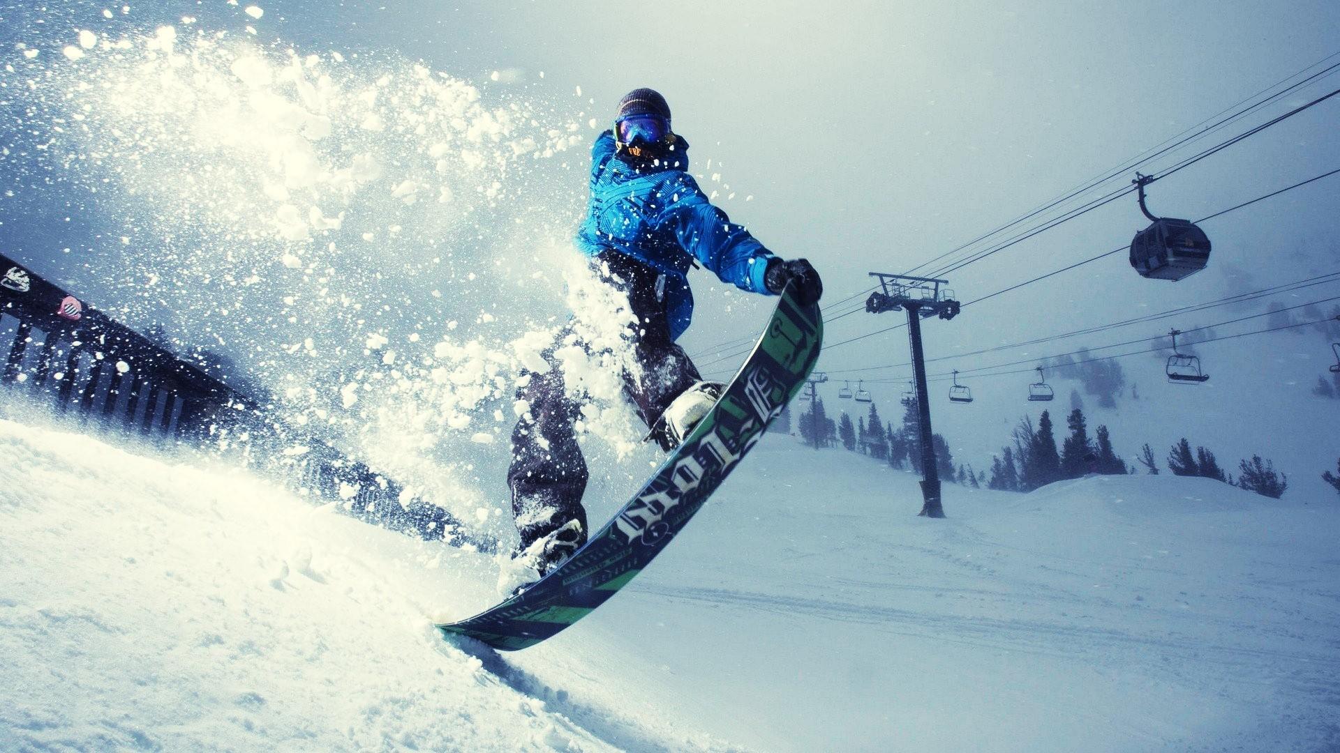 Adenture sports - Snowboarding