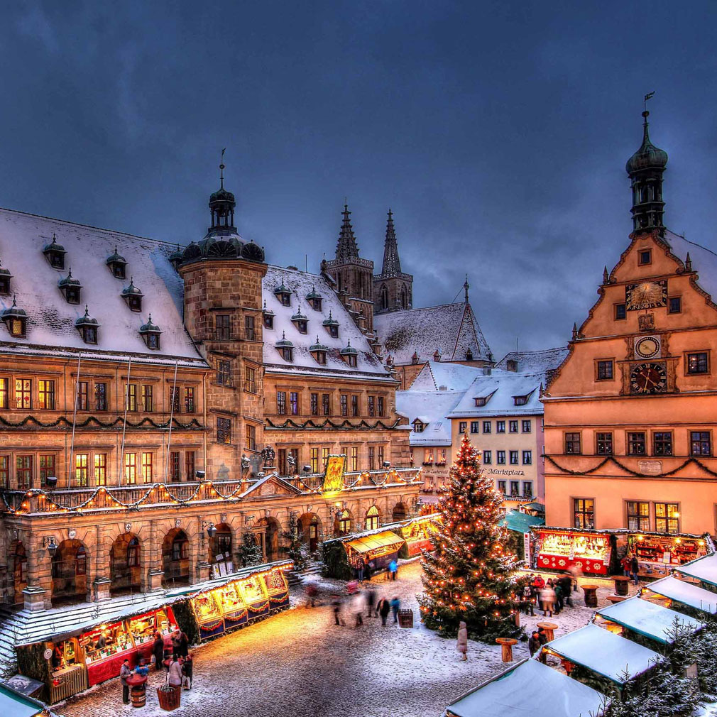 Most Magical Christmas Towns