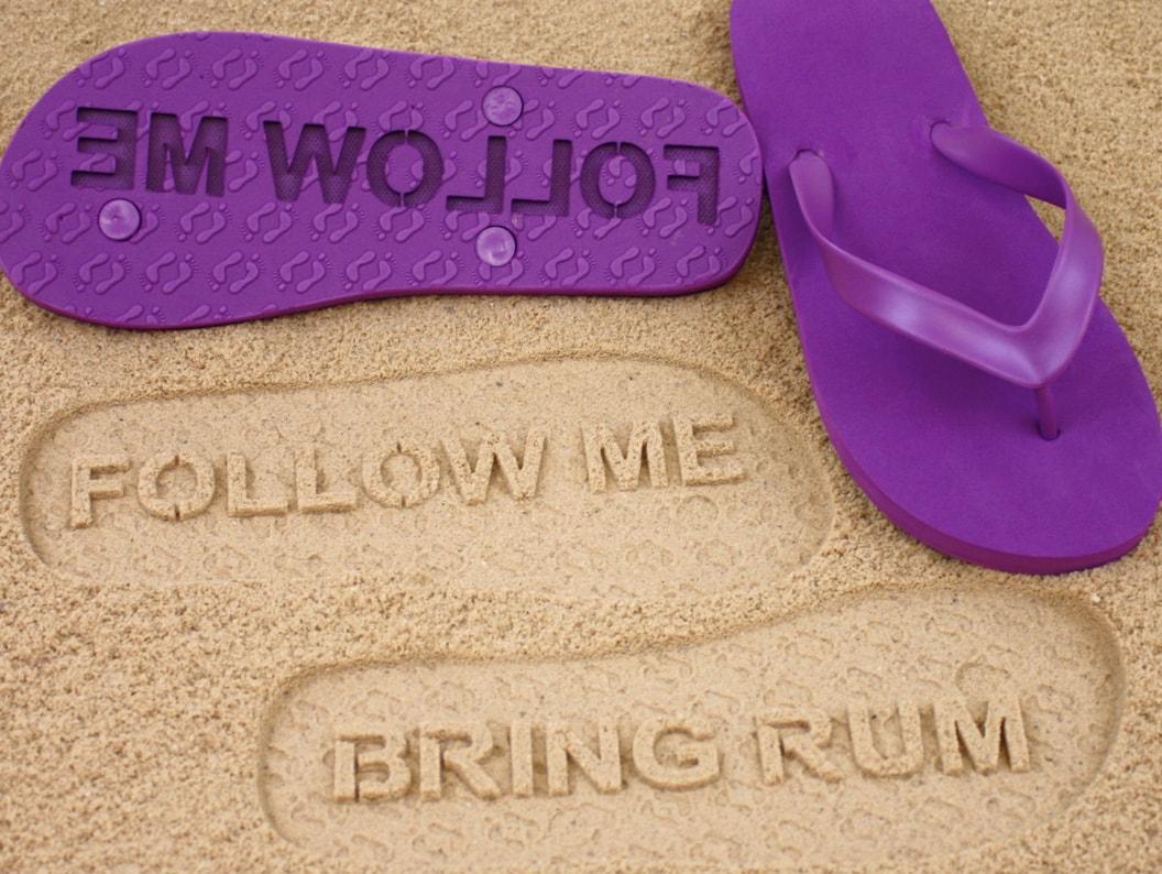 Personalized-Sand-Imprint-Flip-Flops