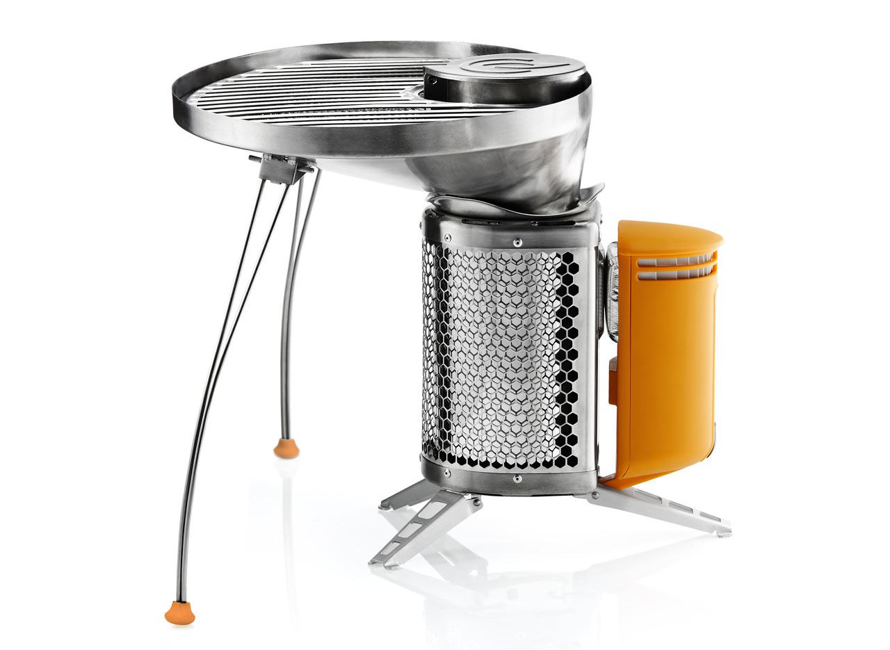 BioLite Campstove with Portable Grill
